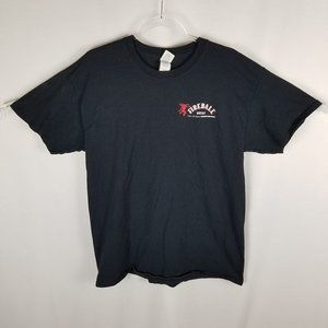 Gildan FIREBALL WHISKY friday tee mens LRG